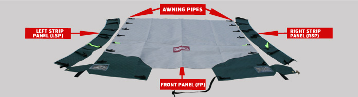 86 Caravan Awning Rail Protector Large Image For